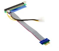 Powered PCI Express 1x to 16x Riser Kabel