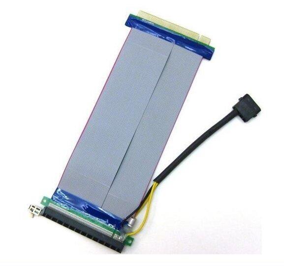 Powered PCI Express 16x to 16x Riser Kabel